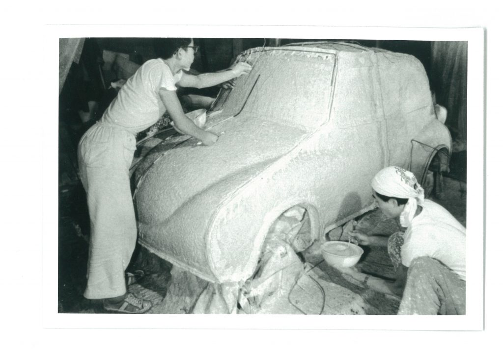 SUBARU360粘土モデル