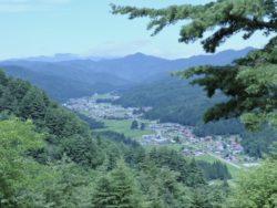 昭和村の全景
